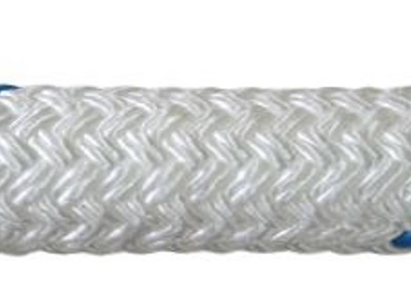Double braided polyester